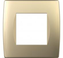Рамка 2M TEM MODUL SOFT, золото