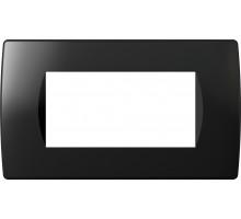 Рамка 4M TEM MODUL SOFT, черная