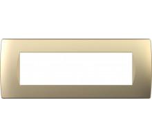 Рамка 7M TEM MODUL SOFT, золото