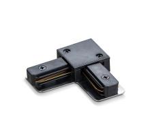 Соединитель для шинопроводов угловой VIDEX черный VL-TRF-CTL-B
