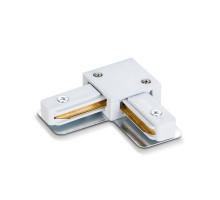 Соединитель для шинопроводов угловой VIDEX белый VL-TRF-CTL-W