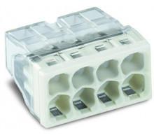 Клемма на 8-контактов, компактная, 0.5-2.5 мм2, без пасти
