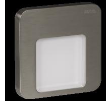 Светодиодный светильник MOZA настенный с диодами. Сталь