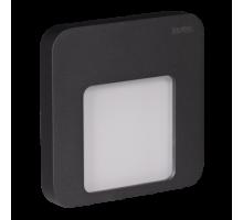 Светодиодный светильник MOZA настенный с диодами. Графит