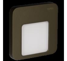 Светодиодный светильник MOZA настенный с диодами. Старое золото.