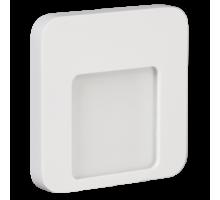 Светодиодный светильник MOZA настенный с диодами. Белый