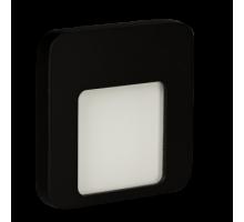 Светодиодный светильник MOZA настенный с диодами. Черный