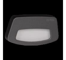 Светодиодный светильник TERA  настенный. Графит