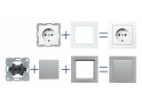 Механизмы и панели BerkerQ