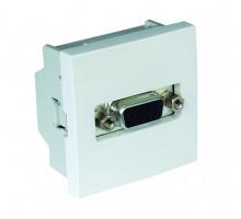 Разъем HD15 (мама) - 2-модульный Белый 45430 SBR Efapel Quadro 45