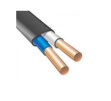 Кабель ВВГПнг 2х2,5 плоский не распространяющий горение, ЗЗЦМ (бухта 100м)