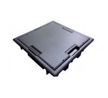 Люк напольный квадратный, антрацит - 16 модулей