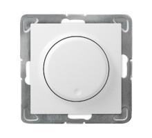 Светорегулятор поворотный LED, OSPEL IMPRESJA белый