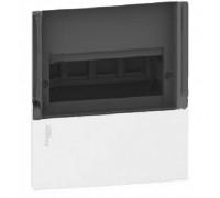 Щит MINI PRAGMA 8 модулей встраиваемый, прозрачная дверь MIP22108S