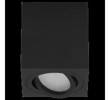 Накладной точечный светильник поворотный DLL 17451 S BK чёрный