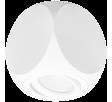 Накладной точечный светильник поворотный DLL 19481 WH белый